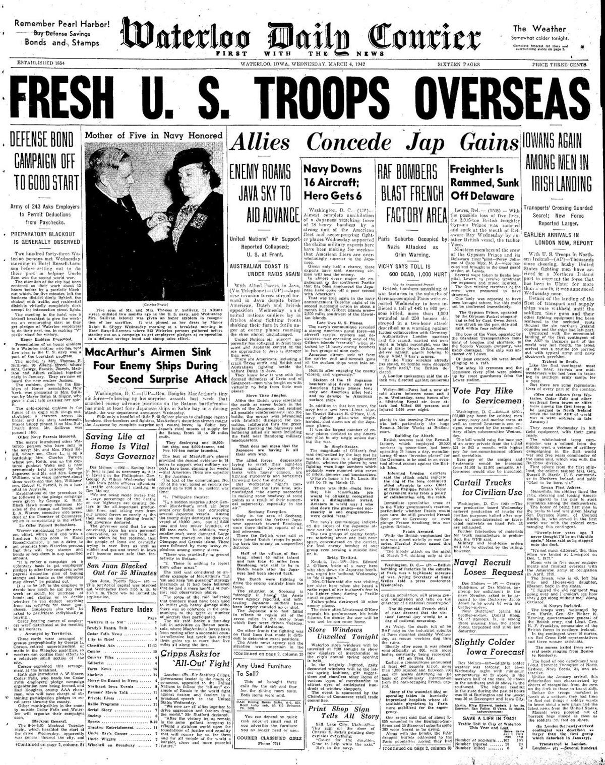 Courier March 4, 1942