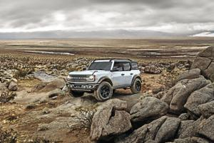 2022 Ford Bronco.