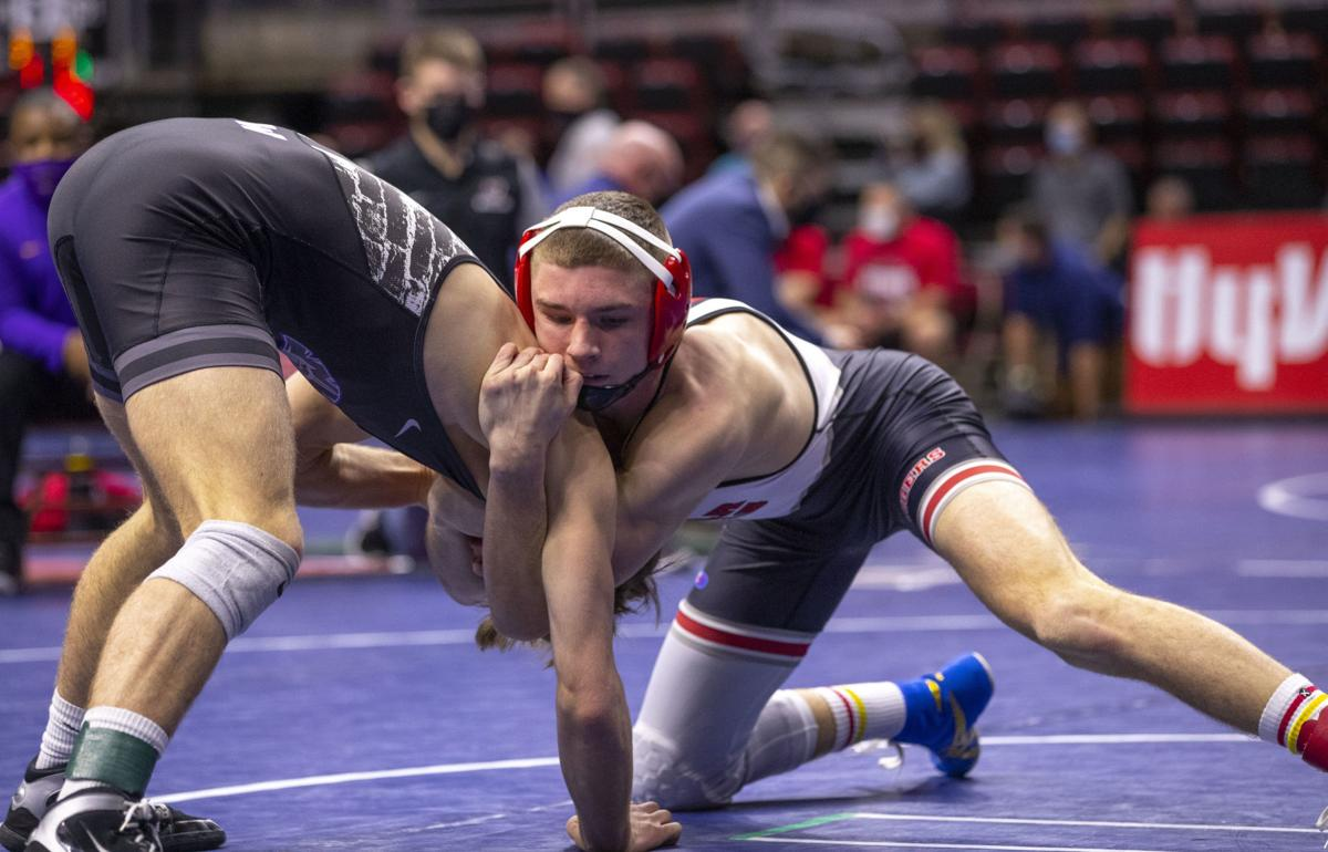 State Wrestling Friday Semi 3A 5
