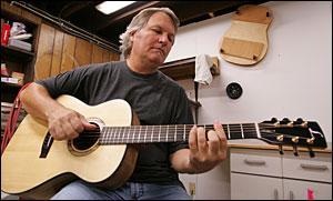 Bob Long one of few in Iowa to handcraft guitars