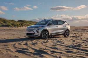 GM unveils next 'big' electric vehicle: the tiny Bolt EUV.