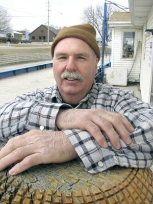 Bob Boehm of Denison, Iowa, is shown on Thursday, March 24, 2011, at Charter Oak (Iowa) Ag Supply, where he works. (PHOTO BY TIM GALLAGHER, Courier Lee News ...