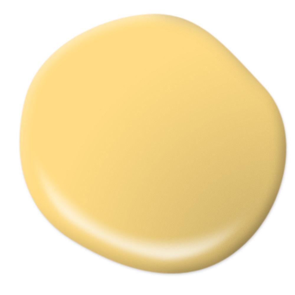 Behr Spirited Yellow blotch