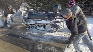 Blizzard heats up snowmobile season | Business - Local News