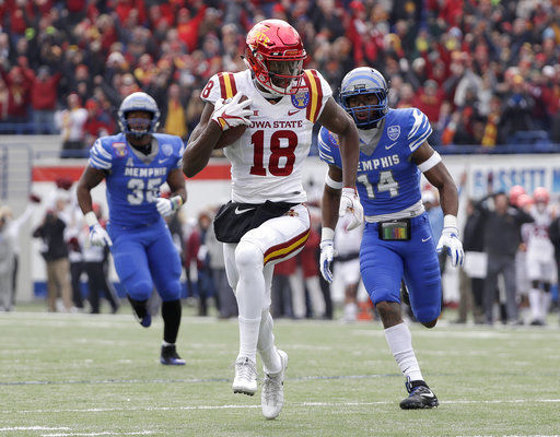 Iowa State edges No. 19 Memphis 21-20 in Liberty Bowl