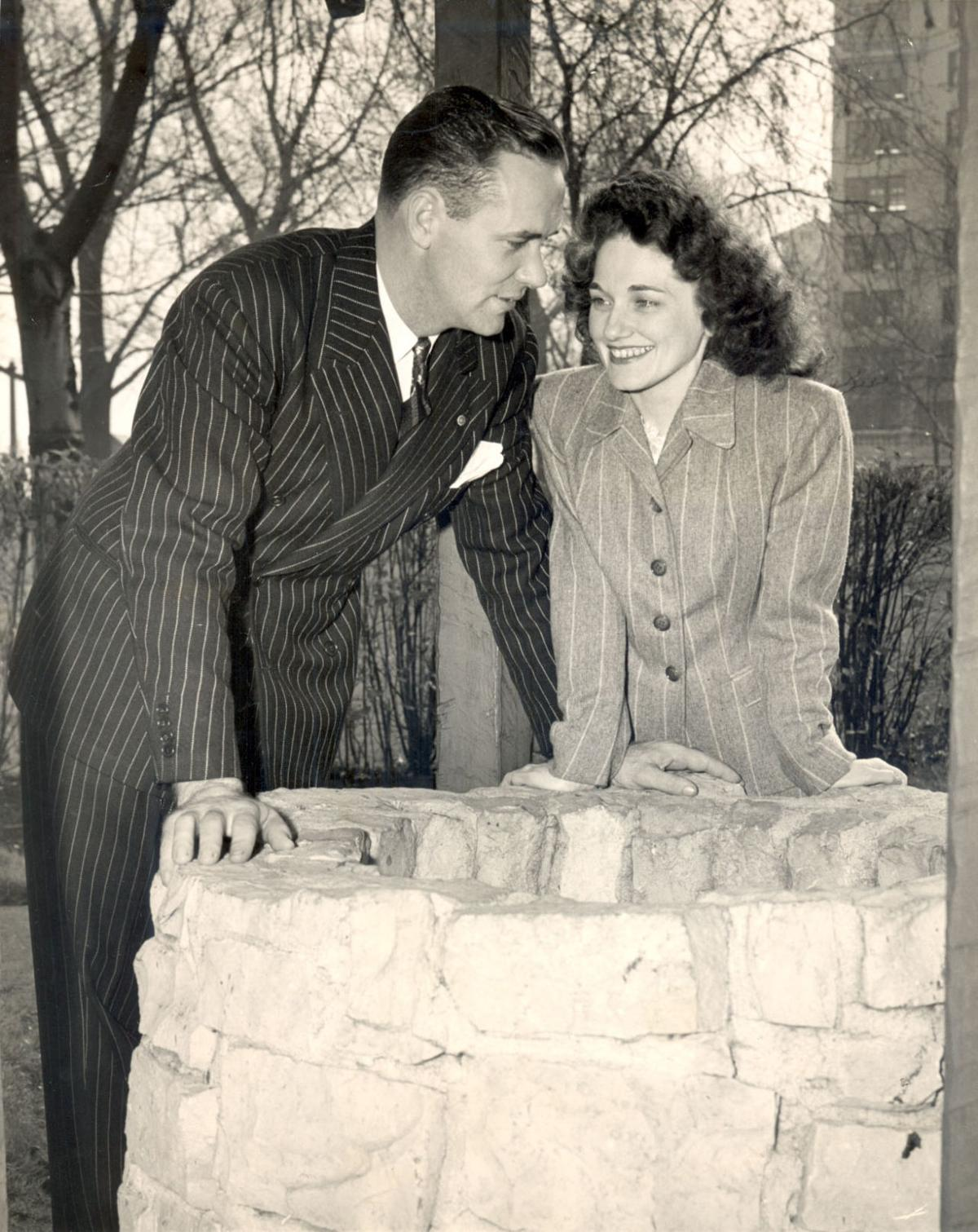 Genevieve Sullivan and Murray Davidson