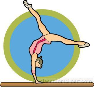 clip art gymnastics