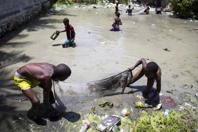 APTOPIX Haiti Cholera Lawsuit