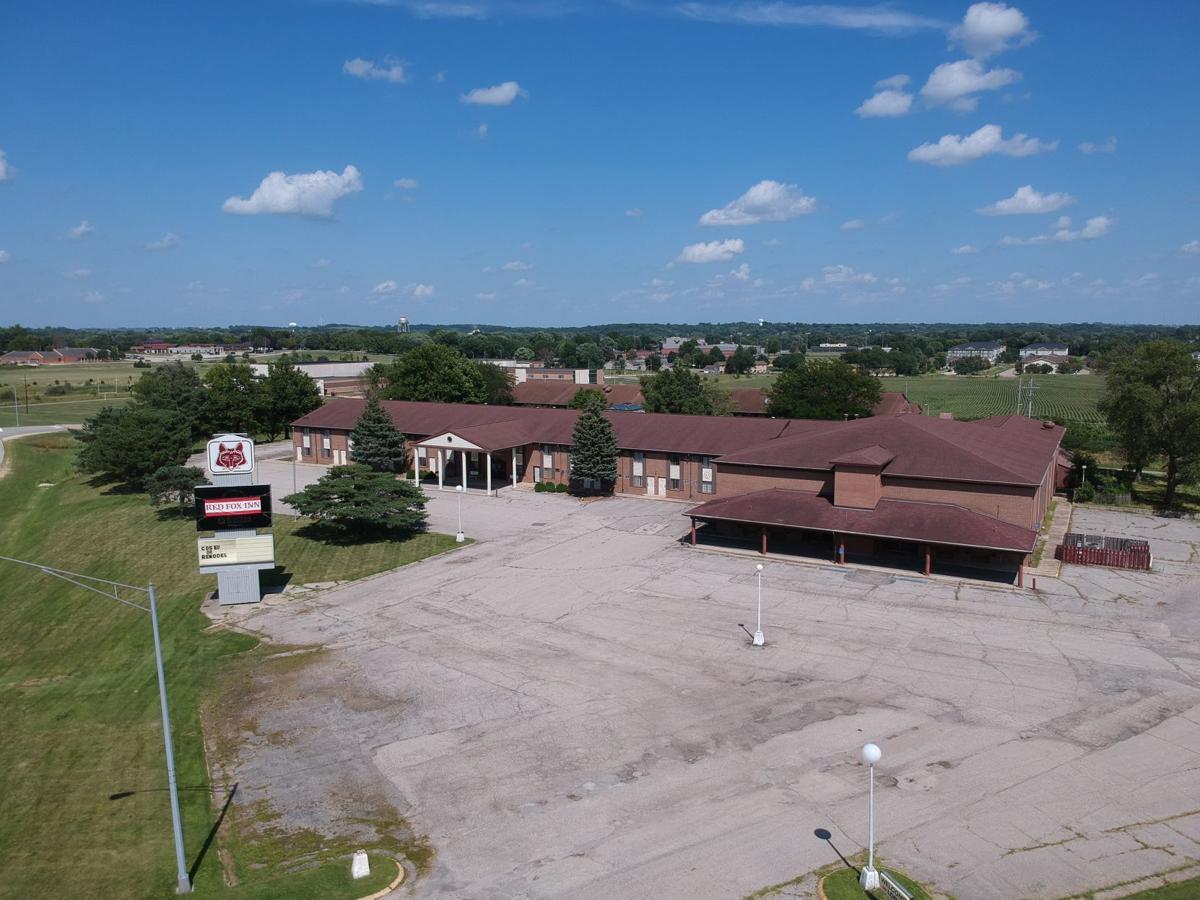 Red Fox Inn aerial photo