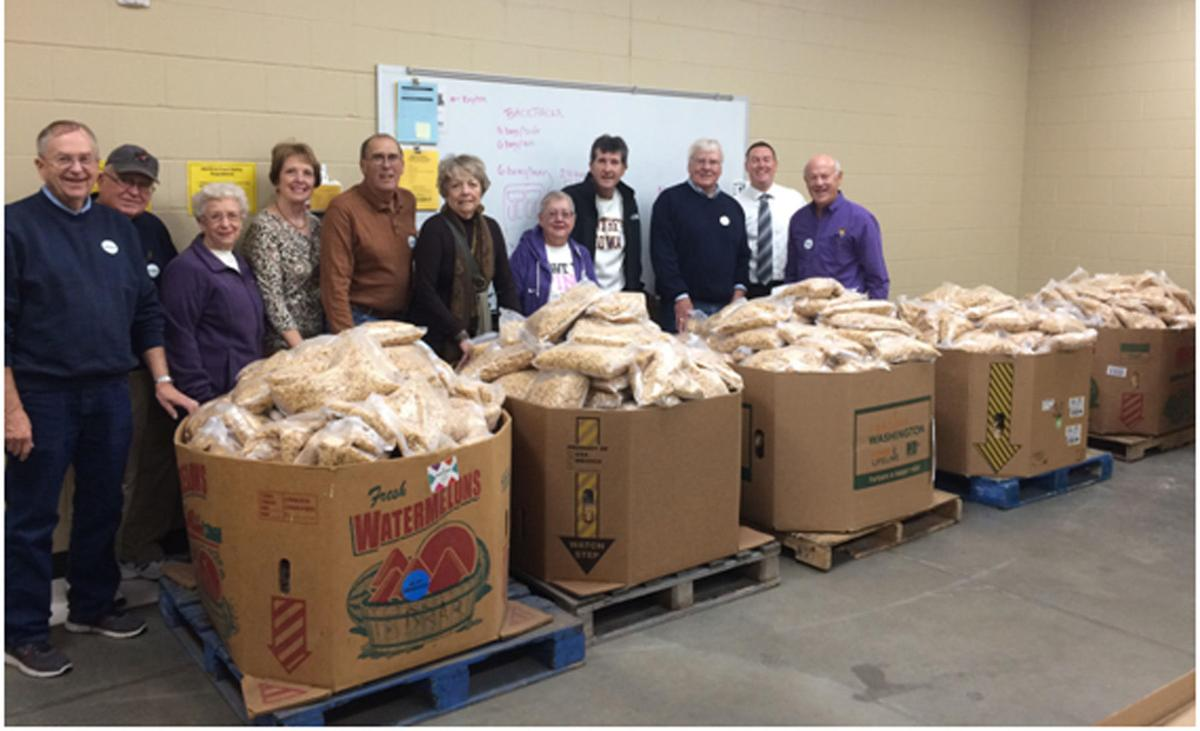 Food bank and Lions Club