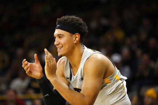 Iowa forward arrested for suspected drunken driving