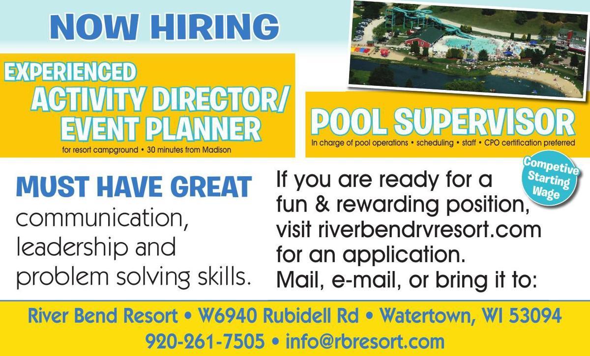 River Bend Resorts NOW HIRING