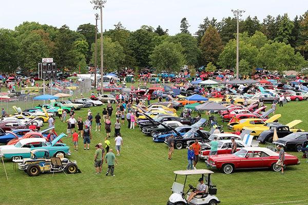 Riverfest Auto Show Announces Award Winners Local News - Grinwald ford car show