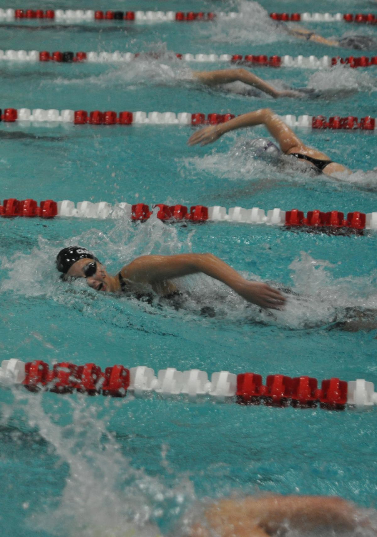 Peterson eighth at state in 100 freestyle