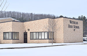 Waterloo School Board rejects entrance canopies