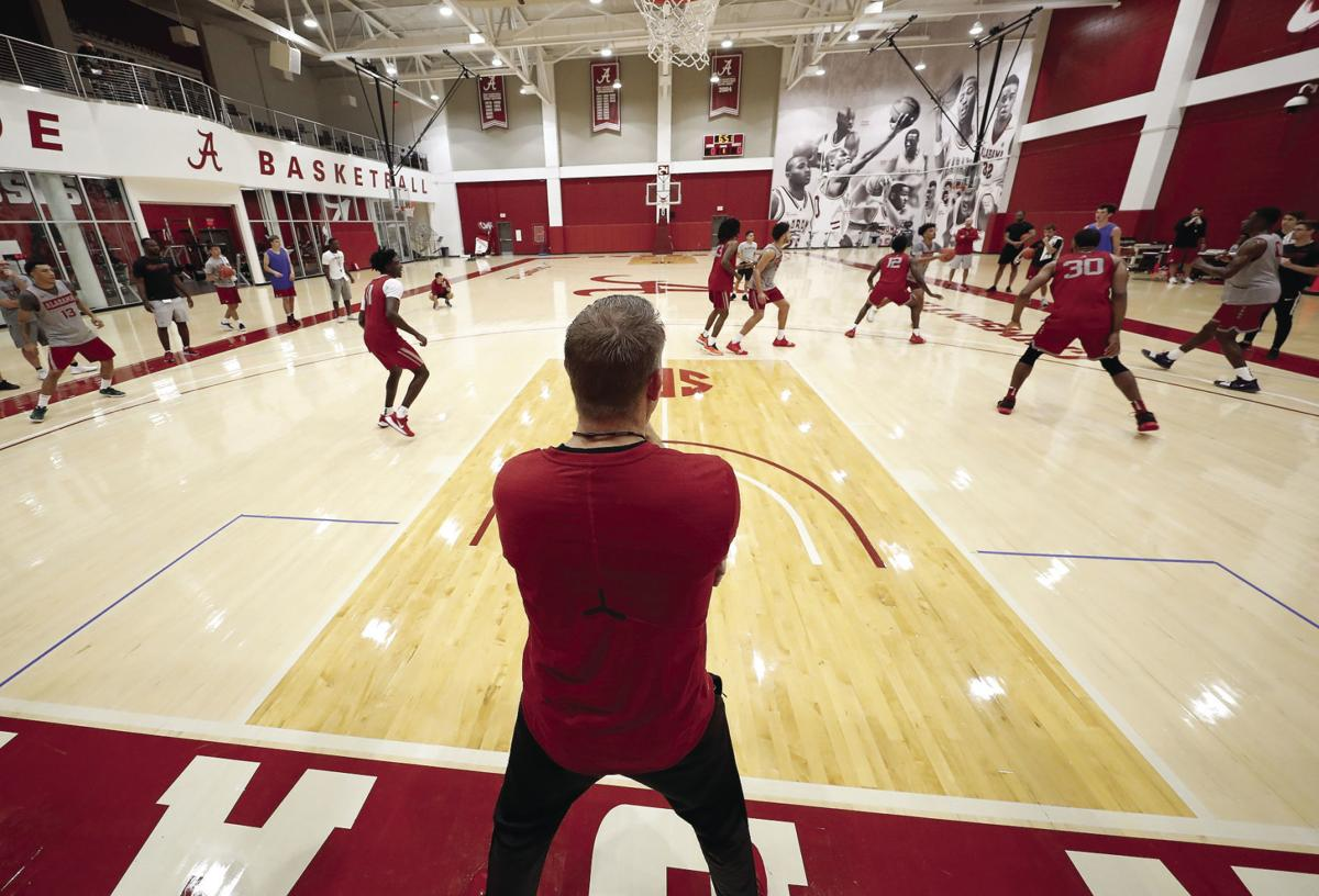 Oats oversees first practice