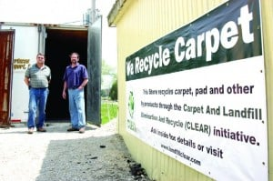 Old Carpet Can Now Be Recycled
