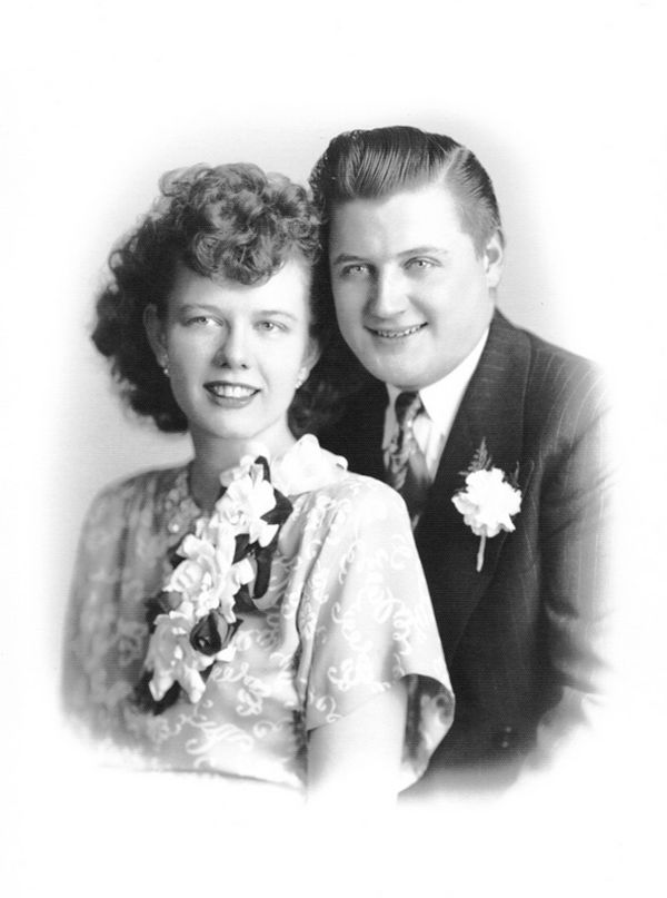 Louise and George Fahrow