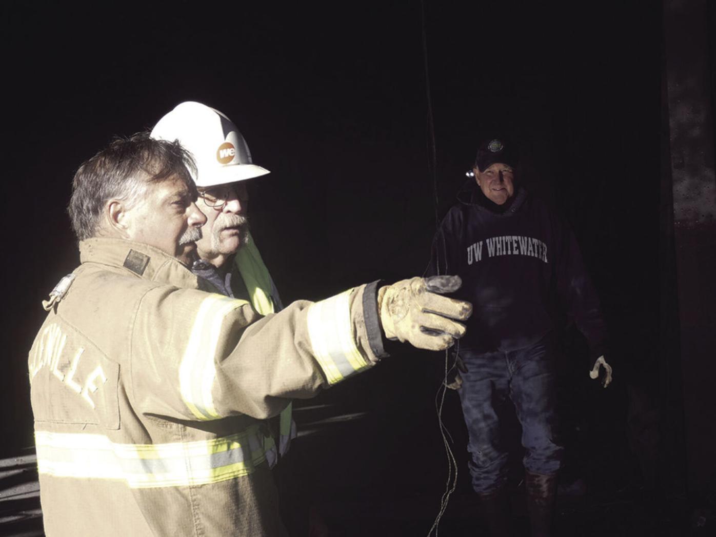 Helenville fire 1