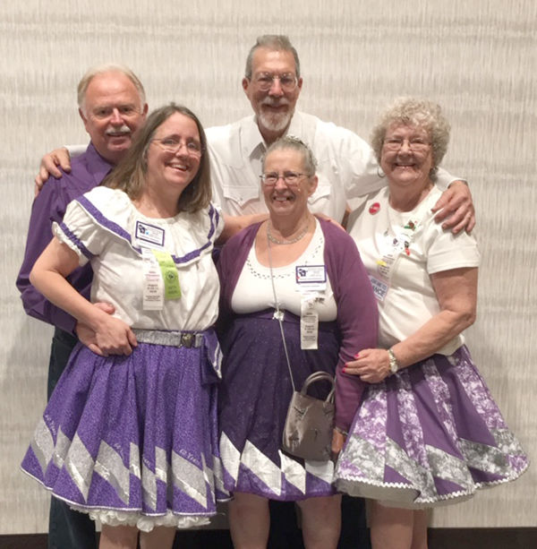 Local square dancers attend convention