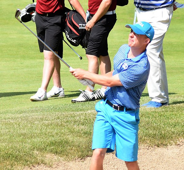 Lakeside's Lukas Heckmann wins D2 state title by 3 strokes