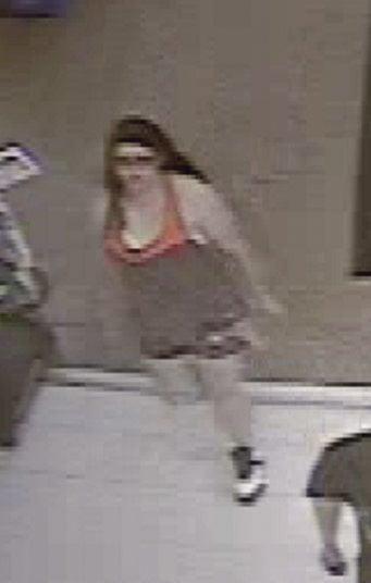 Suspect in Walmart theft