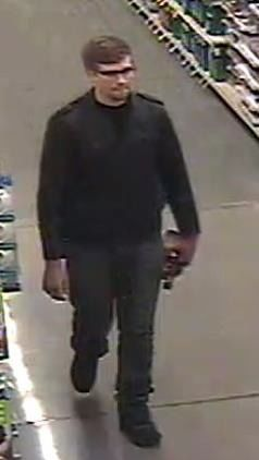 Police search for suspect