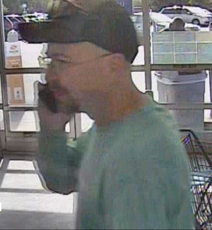 Police searching for Walmart shoplifter