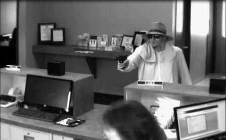 Bank robbed at gunpoint
