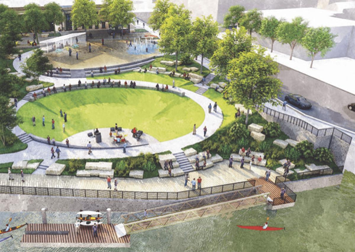 Public to get first look at town square design