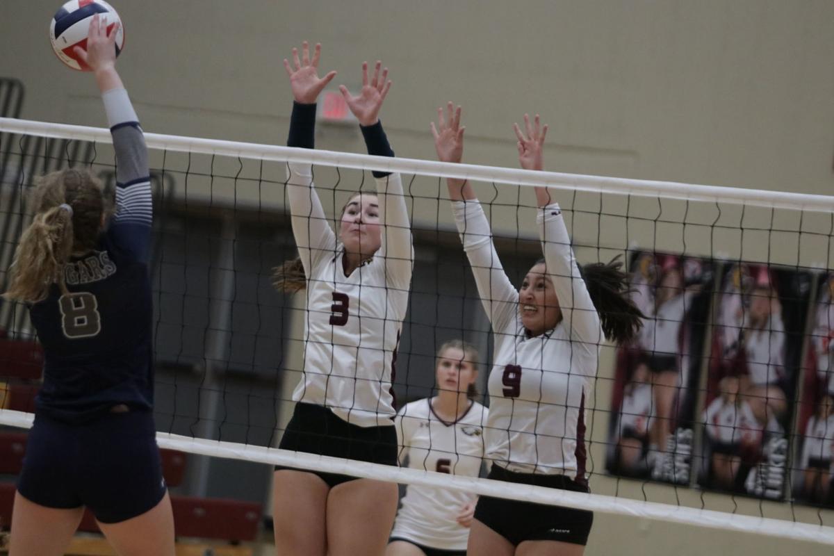 JHS volleyball wins on Senior Night