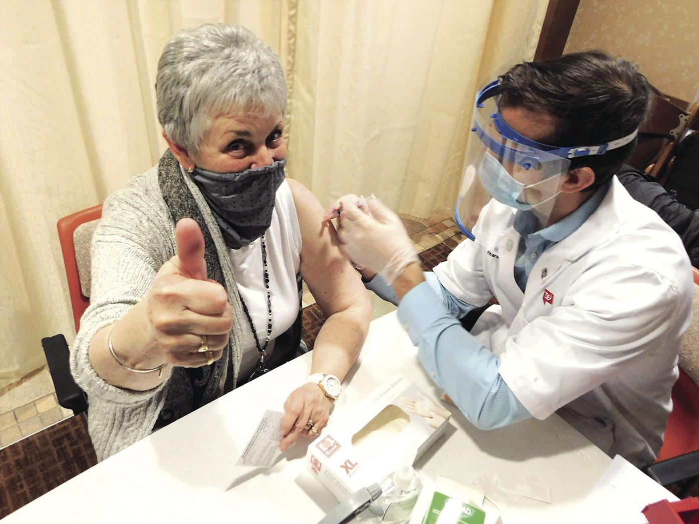 Watertown fire department ahead of field in vaccination