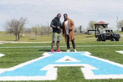 Duo hopes to mentor youth beyond sports
