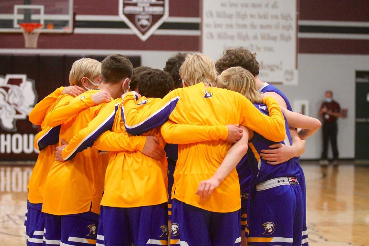 BK team huddle