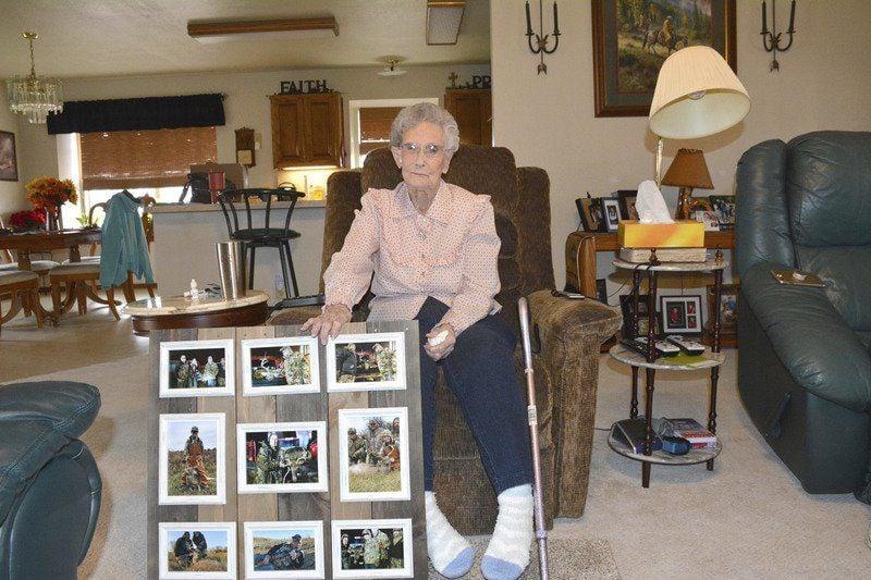 94-year-old hunts 10-point deer