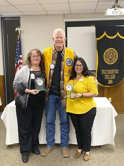 OUTSTANDING: Noon Lions recognize community members for their service