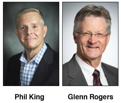 Phil King and Glenn Rogers