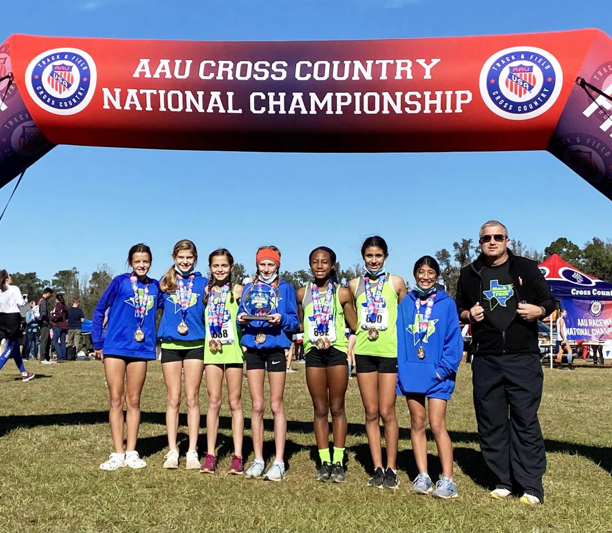 National Champions 3K - 11-12 Year Old Girls Division