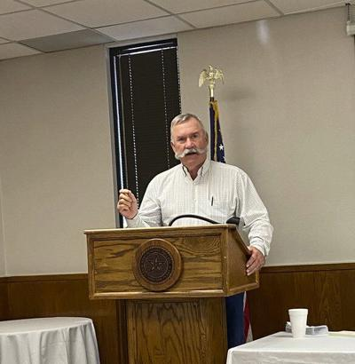 Walden gives breakdown of commissioner duties during Lions Club