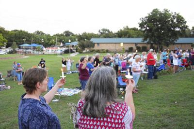Lights for Liberty vigil draws people to protest migrant detention camps