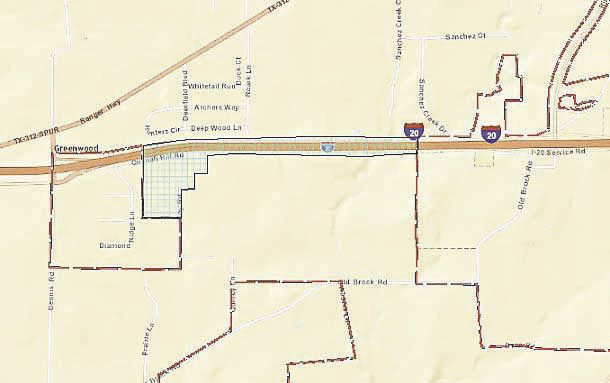 Coy Road Annexation Map