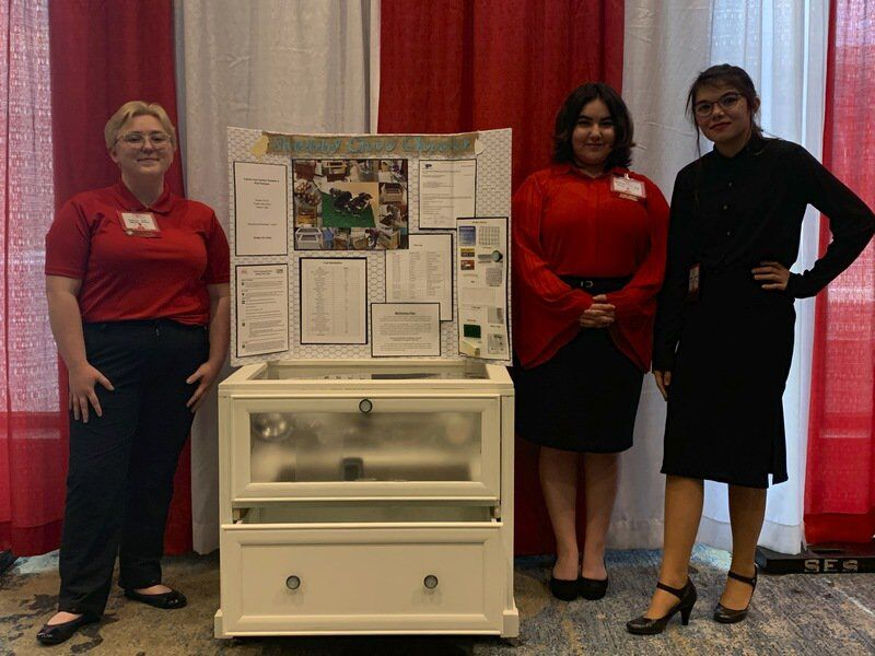 Peaster FCCLA teams advance to state