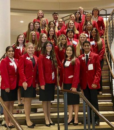 Peaster HS students represent at FCCLA national conference