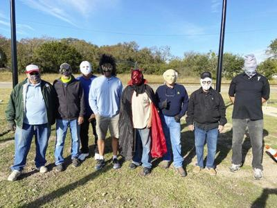 Weatherford Horseshoe Club hosts Halloween Tournament
