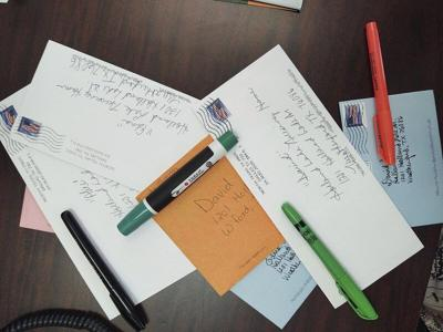 Dear pen pal: Local nursing homes see success with writing program
