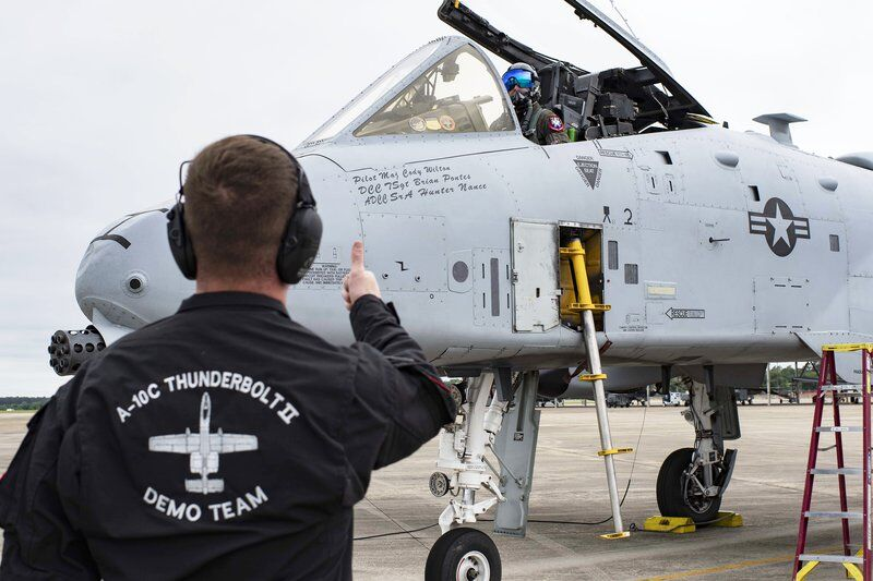 Flying high: Mineral Wells native promotes Air Force through A-10 demo team