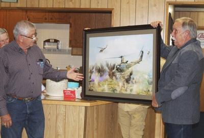 A HERO'S HONOR: Former Huey pilot recognized for actions during Vietnam War
