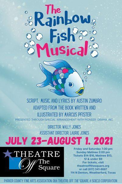 The Rainbow Fish Musical premieres Friday