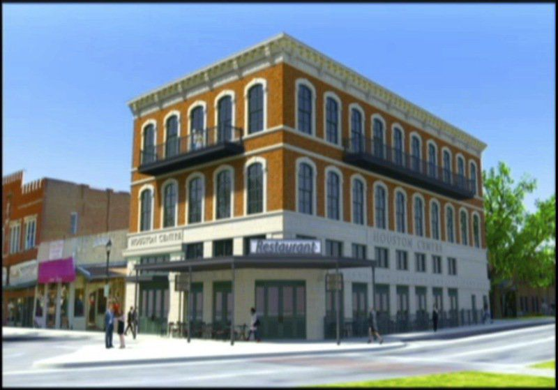 Three-story Building Planned For Square