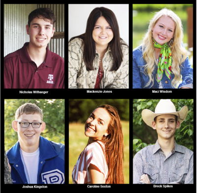 Six 4-H members awarded $41,000 in scholarship funds